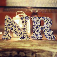 Mini wedding, mini casamento, rustico, rustic, azul, blue, decoraçao, decor, Iniciais dos noivos.
