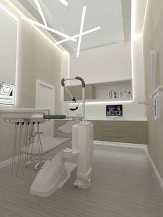 Dental Office Decor, Medical Office Design, Healthcare Design, Clinic Interior Design, Clinic Design, Dentist Clinic, Cabinet Medical, Dental Design, Office Interiors
