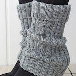 15+ Free Leg Warmer Patterns To Knit (Plus A Few Crochet) : TipNut.com