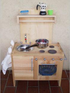 cucina di legno fai da te