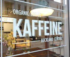 Our logo!! #organic coffee # Auckland Central #Kaffeine
