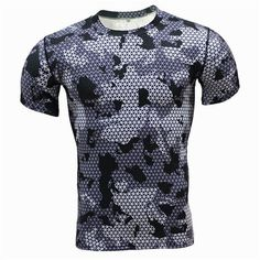 #Brilliant - Men's Gym Shirt G... from Gym Fanatics. Get yours at http://gymfanatics.co.za/products/mens-gym-shirt-grey-camo-print?utm_campaign=social_autopilot&utm_source=pin&utm_medium=pin today.