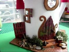 fairy house - YouTube
