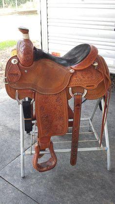 Martin Roping Saddle #MartinSaddlery Roping Saddles, Western Saddles, Horse Saddles, Horse Tack, Pole Bending, Horse Accessories, Charro, Friesian Horse, Cowboy Art