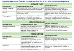 Informatiemodel en Cognitieve functies Executieve functies Emiel van Doorn StiBCO
