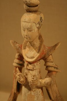 Standing Court Lady China,Tang dynasty,618-907 7th cent.