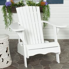 Inspired by the original Adirondack chair designed in 1903, the Mopani Chair exudes 21st century rustic chic charm.