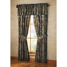 Grand River Lodge™ Camo Drapes...got the mini ones in the window on the door :)