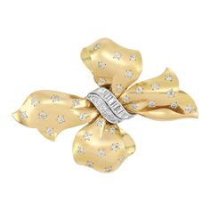 Gold, Platinum and Diamond Bow Brooch, Bulgari for Sale at Auction on Wed, - - Important Estate Jewelry Bulgari Jewelry, Gemstone Jewelry, Jewelery, Tiffany Jewellery, Golden Jewelry, High Jewelry, Van Cleef Arpels, The Great Gatsby, Opals