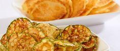 Chips de batata e abobrinha