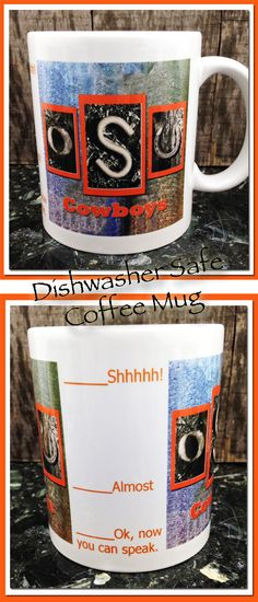 OSU, Oklahoma State University, Coffee Mug, Cowboys