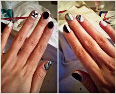 #nail #art #homemade #design #easy