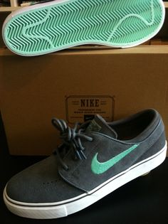 Nike SB - Stefan Janoski Low Dark Grey/Mint
