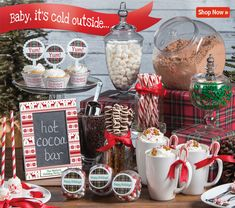 Build Your Own Hot Cocoa Bar