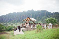 Fun Cly Modern Chic Destination Wedding At Kualoa Ranch In Hawaii By Ifloyd Photography