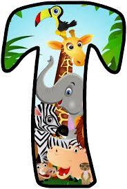 Safari Party, Safari Theme Birthday, First Birthday Party Themes, Jungle Party, Baby Boy Banner, Its A Boy Banner, Safari Thema, Alfabeto Animal, Scrapbook Letters