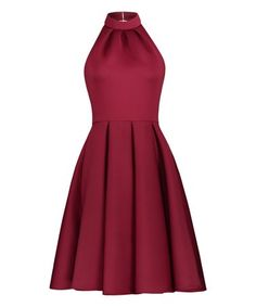 Look what I found on Red Sleeveless Dress - Women Red Sleeveless Dress, Holiday Party Dresses, Hue, Designer Dresses, Backless, Fashion Dresses, Formal Dresses, Skirts, Cotton
