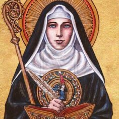 Saint Hildegard of Bingen (1412-1431) This German Saint and Doctor of the Church was born in a home of wealthy landowners. She entered the Benedictine convent of Disibodenberg at the age of 8. Her work contains great reflections on the mystery of God and the possibility of meeting Him, the fundamental objective of theology. Her scientific, artistic and linguistic works allow us an in-depth look at the mystery of the human being and man's relationship with God. Pope Benedict XVI, in his…