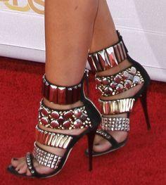 Plated heels