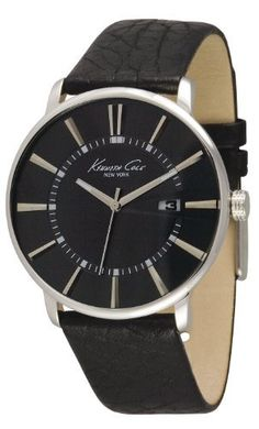 Kenneth Cole New York Leather Collection Black Dial Men's Watch #KC1606 Kenneth Cole. $89.99. Save 25%!