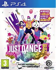 Sony PlayStation Games Just Dance 2019 for PlayStation 4 Last Of Us, Sean Paul, Wii Games, Xbox One Games, David Guetta, Becky G, Bruno Mars, Cardi B, Wii U