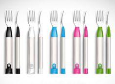 Para saborear e perder peso - High-Tech Girl   HAPIfork, da HAPILabs. Para comer melhor e perder peso.