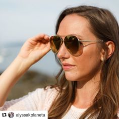 """@alyssakplaneta wearing @diffeyewear like a boss and repping a company that does good  #likeaboss #diffeyewear #dogood  #Repost @alyssakplaneta (@get_repost)  Current summer obsessions: coconut cold brew rose and these @diffeyewear sunnies. How cute are these? Even better I'm supporting a company that gives back. For every pair of sunglasses sold DIFF donates a pair of reading glasses to someone in need! Go grab yourself a pair and be sure to use the code """"ALYSSAP25"""" for 25% off your…"""
