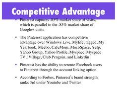 Competitive advantage!