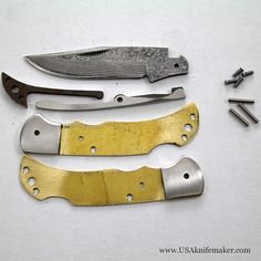 lock back knife tutorial - Google Search
