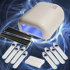 UV Lichthärtungsgerät Lichthärtegerät UV Lampe 8-Röhren Nägel Röhre + Zubehör