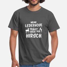 Lederhosen Oktoberfest Wiesn Geschenk Bier Ersatz Männer T-Shirt | Spreadshirt
