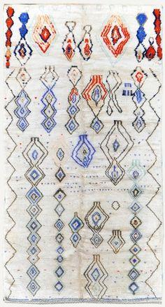 Vintage Moroccan Rug | High Atlas Tribe