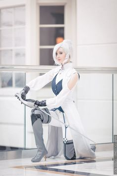 Winter Schnee Cosplay - RWBY by Nakatsukuni - COSPLAY IS BAEEE!!! Tap the pin now to grab yourself some BAE Cosplay leggings and shirts! From super hero fitness leggings, super hero fitness shirts, and so much more that wil make you say YASSS!!!