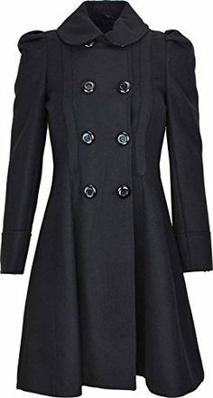 Kentex Online Women's Double Breasted Long Fit & Flare Winter Coat With Lining