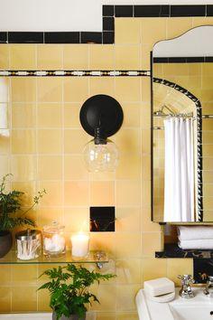 SG - Update your vintage bathroom while keeping its charm #vintagebathroom #bathfixtures #bathroomrefresh #diybathroom #bathdesign