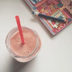 Schoolwork  #smoothie #breakfast #vegan #raw #Padgram