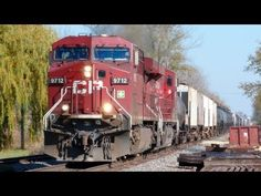 """CP 9712 West, a 9,222 Foot Canadian Pacific """"273"""" Train on 10-21-2012"""