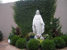Mary's Garden at Ascension Catholic in Melbourne, Florida