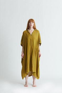 Kite Dress / KID-08 / Mustard