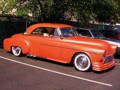 This is one Orange Car !