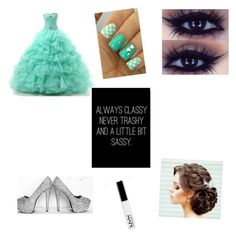 """Never trashy"" by ashleypaynter ❤ liked on Polyvore featuring beauty"