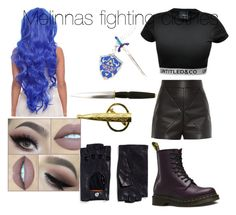 Untitled #7 by scarlero on Polyvore featuring polyvore, fashion, style, CO, Balenciaga, Dr. Martens and Georges Morand