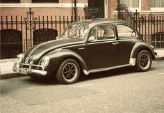Old fashioned car.