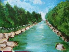 Acrylic River, Space, Creative, Outdoor, Floor Space, Outdoors, Outdoor Living, Garden, Rivers