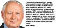 "#OskarLafontaine über #donaldtrump : ""Wie unbedarft dieser ungebildete Baulöwe ist"" #USA #fucktheusimperialism #Irak #syrien #krieg frieden #peace #dielinke #linksfraktionsaar #oskar #lafontaine"