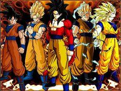 Goku, fases de ssj