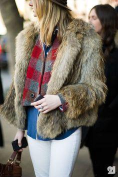 fur + flannel