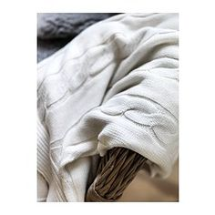 URSULA Throw - white - IKEA http://www.ikea.com/us/en/catalog/products/30200696/?query=302.006.96#/30200696