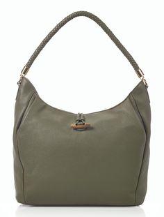 Talbots - Softly Pleated Pebbled Leather Hobo | Handbags |