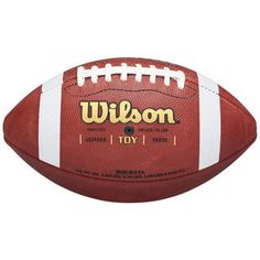 Wilson TDY Traditional Leather Football $29.99 Was:$39.99